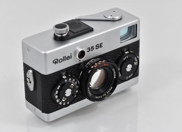 Rollei 35SE - Silver/Black - Condition: Mint-