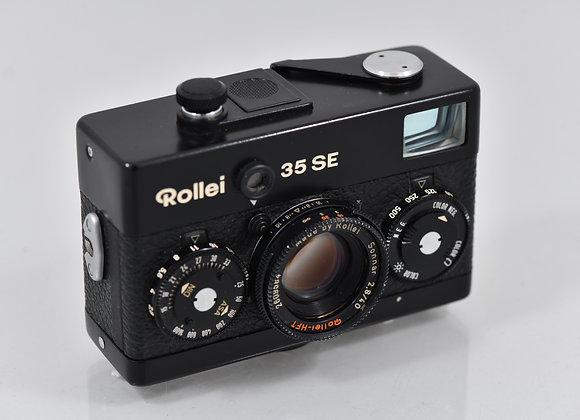 Rollei 35SE - Black/Black - Condition: Exc+++
