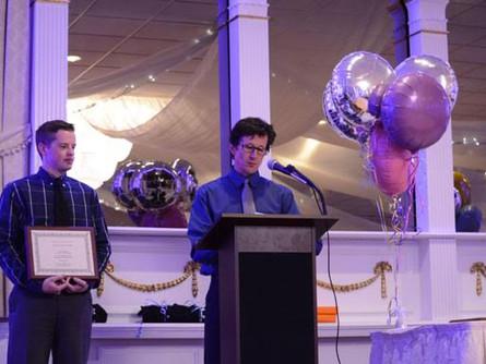 Charles Hallax, EMS Excellence Award Recepient