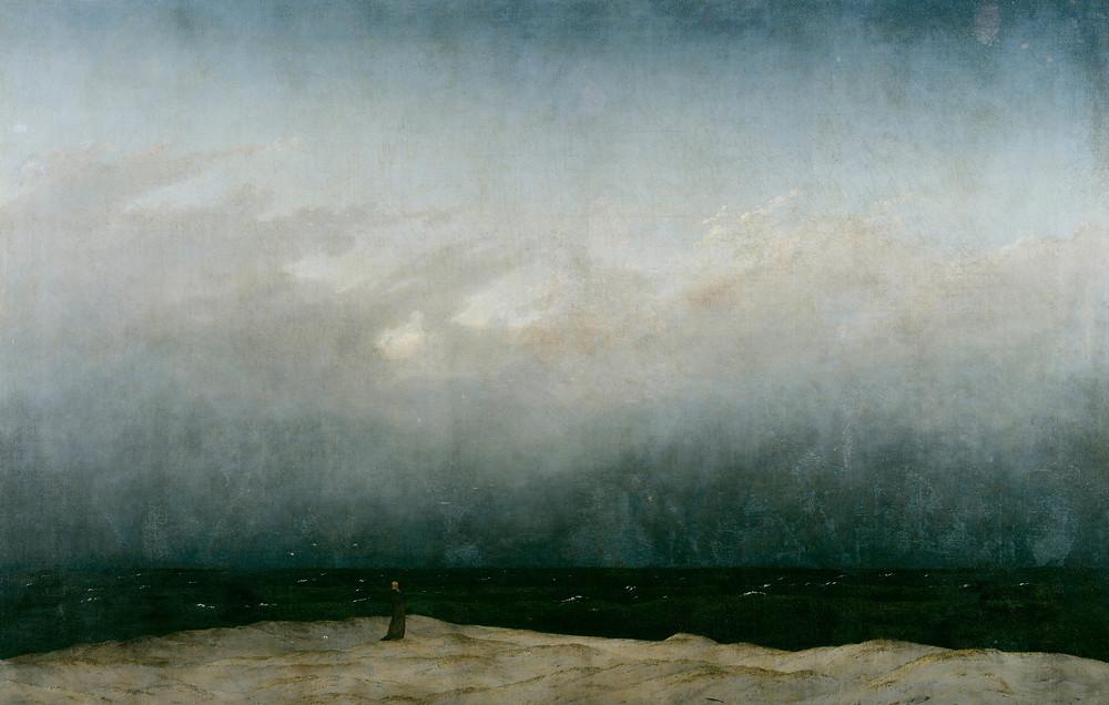 Casper David Friedrich's The Monk by the Sea