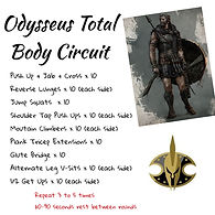 Total Body Circuit Style Bodyweight Workout