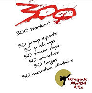 300 repetition workout