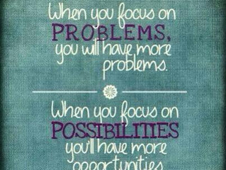 What You Focus on Expands....Really?!?