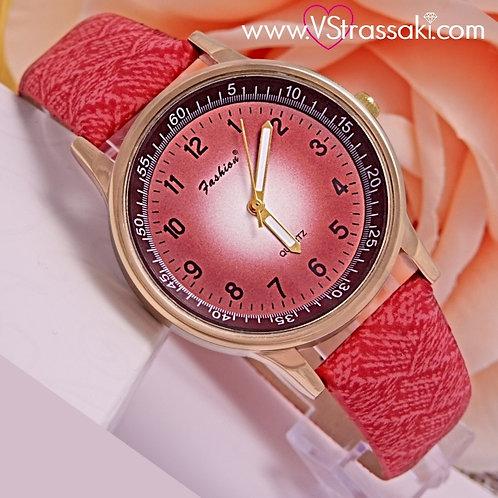 Γυναικείο Ρολόι Fashion Με Υφασμάτινο Λουράκι SimpleTime Χρυσό 5022