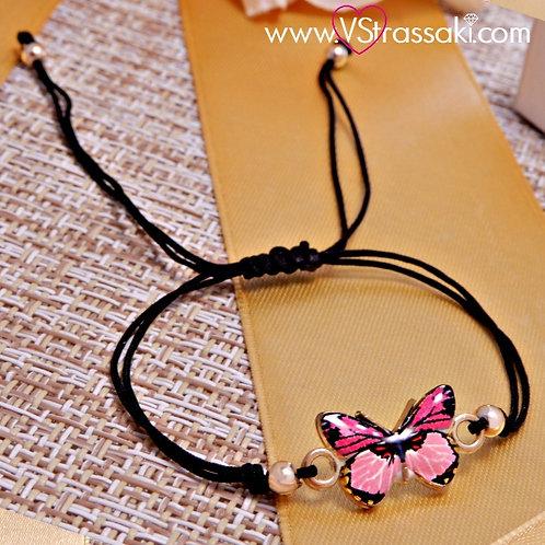 Βραχιόλι Με Πεταλούδα Butterfly Bracelet 6076