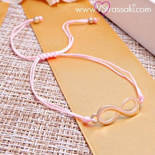 Βραχιόλι Με Άπειρο Infinity Bracelet 6094