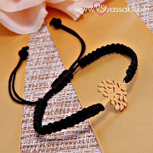 Βραχιόλι Με Tree of Life Bracelet Ατσάλι 6079