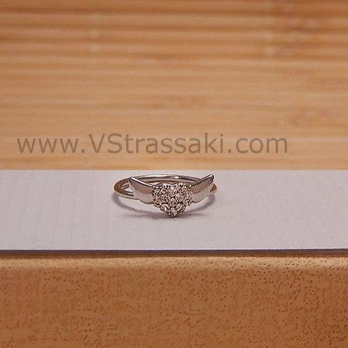 Δαχτυλίδι καρδιά με φτερά 1992