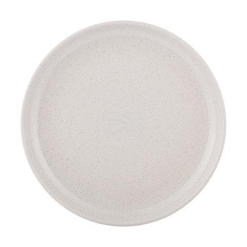 GREY SPECKLED  DINNER PLATE