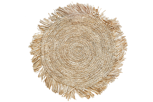 BOHO RATTAN PLACEMAT CHARGER
