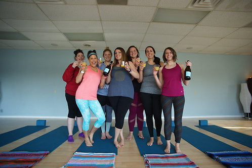 Yoga Party for Up to 10 People