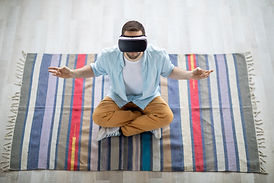 meditating-on-rug-RNXAKFR.JPG