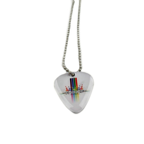 EMMARIE Music Pick Logo Necklace
