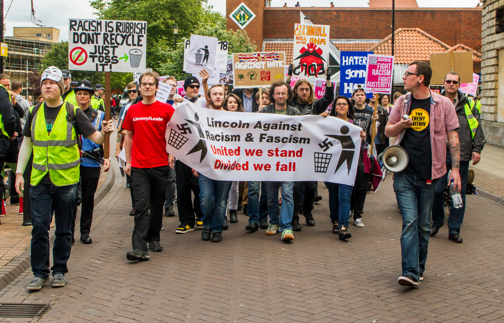 Anti-racism march