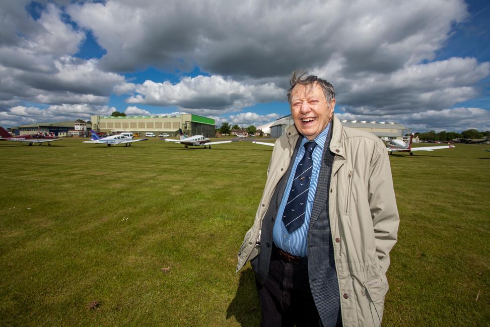 Air Commodore Charles Clarke, OBE