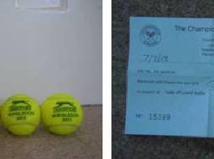 Murray 2013 Wimbledon Win Balls go to Auction