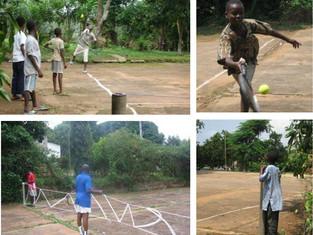 British Volunteer takes tennis to the hills of Ghana!