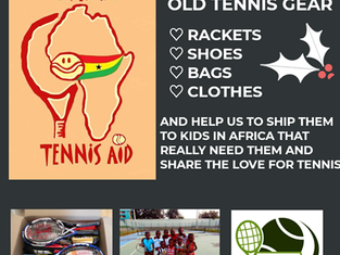 Rise Tennis Academy in Shanghai do Xmas donations appeal for ATA