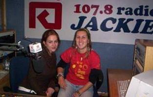 Interview on Radio Jackie
