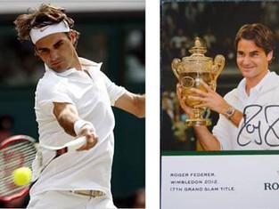 Rodger Federer Autograph for ATA!
