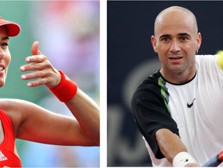 Ana Ivanovic and Andre Agassi donate to ATA