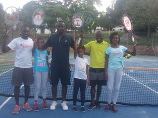 Wilson Rackets arrive at the University of Ghana!