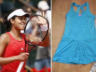 Ana Ivanovic Donates Signed Dress to ATA!