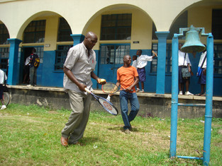 Tennis Donations reach Sierra Leone School!