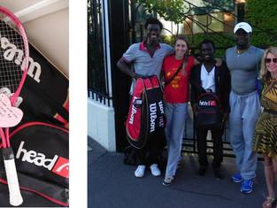 Ghanaian Team visit the Wimbledon Championships!