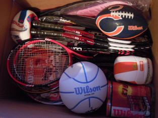 Wilson donates for Play Tennis For Africa Day!