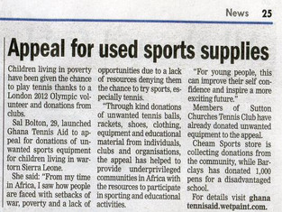 April 2012 News