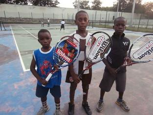 JTI Winners receive Wilson Racquet Donations