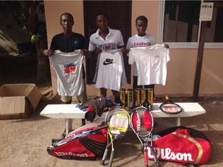 Wilson Tennis Donations reach United Through Sport Ghana
