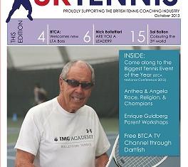 ATA Article in UK Tennis Magazine October 2013