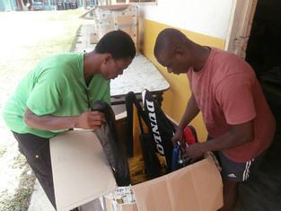 Summer 2015 Donations reach Ghana!