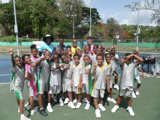 Caribbean Coaching - ATA Wilson Donations reach Youths in St Lucia!