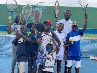 University of Ghana runs Post-Lockdown Tennis Summer Camp!