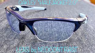 """【度付き】OAKLEY x HALFJACKET 2.0 """"インドアテニス用"""""""