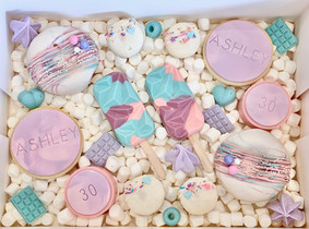 Marble Pastel Treat Box