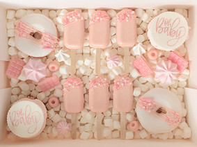 Oh Baby - Pink TREAT BOX