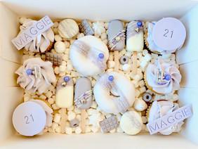 "21st ""Lilac Birthday"" Treat Box"