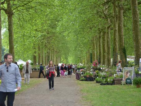 Flower & Gardening Fair  ベルギーの古城にて