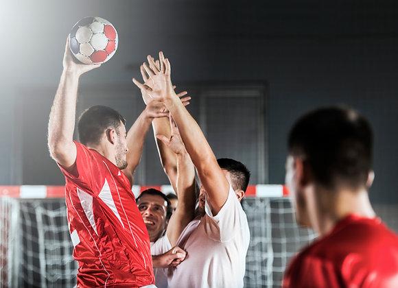 1 Stunde Handball