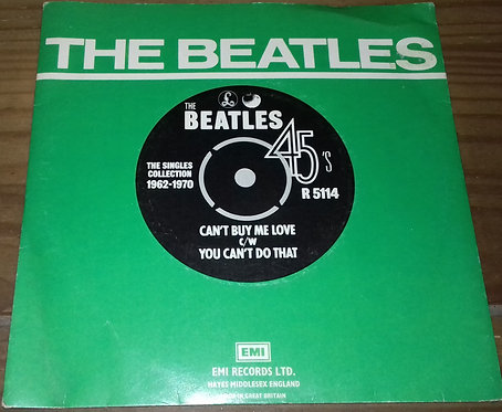 """The Beatles - Can't Buy Me Love / You Can't Do That (7"""", Single, RE) (Parlophone"""