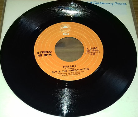 "Sly & The Family Stone - Frisky (7"", Single) (Epic)"