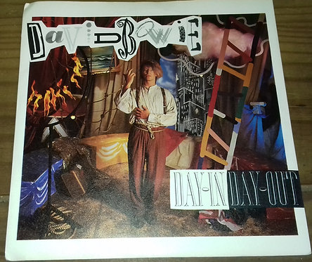 """David Bowie - Day-In Day-Out (7"""", Single, Bla) (EMI America)"""