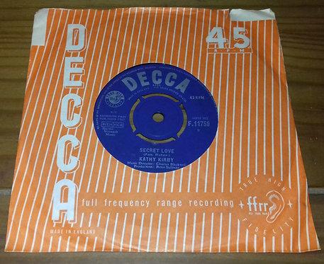 """Kathy Kirby - Secret Love (7"""", Single) (Decca)"""
