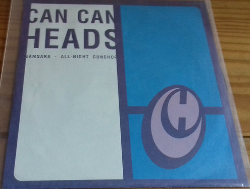 """Can Can Heads / Warser Gate - Split (7"""", EP) (Boing Being)"""