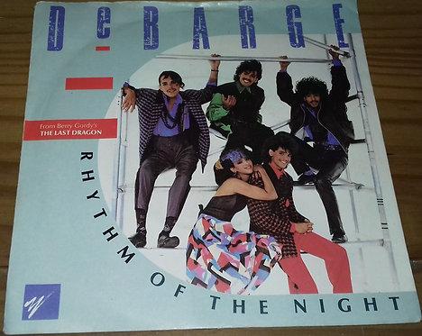 """DeBarge - Rhythm Of The Night (7"""", Single) (Gordy)"""