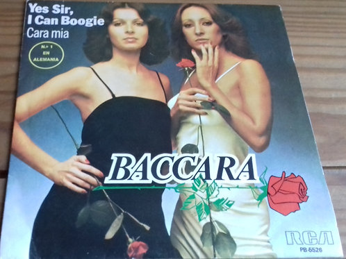 "Baccara - Yes Sir, I Can Boogie / Cara Mia (7"", Single, RE) (RCA Victor)"